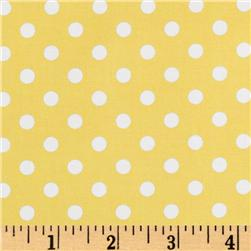 Brights & Pastels Basics Aspirin Dot Yellow