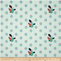 Cotton & Steel Fruit Dots Fruit Blossom Mint