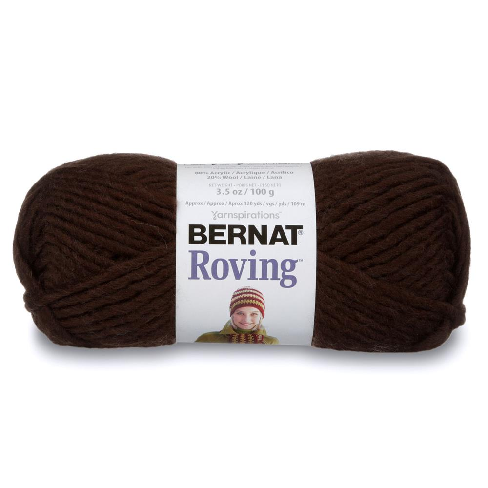 Bernat Roving Yarn (00012) Chocolate Brown