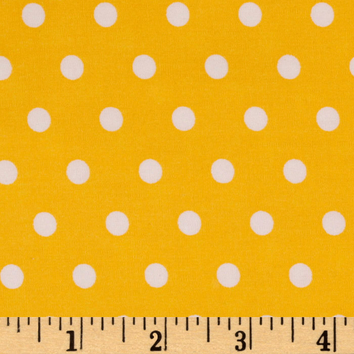 Pimatex Basics Polka Dots Yellow
