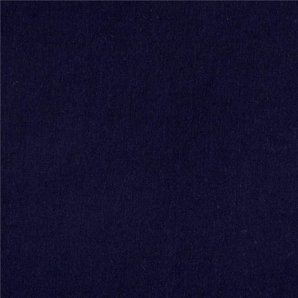 Rayon Spandex Jersey Knit Navy Fabric By The Yard