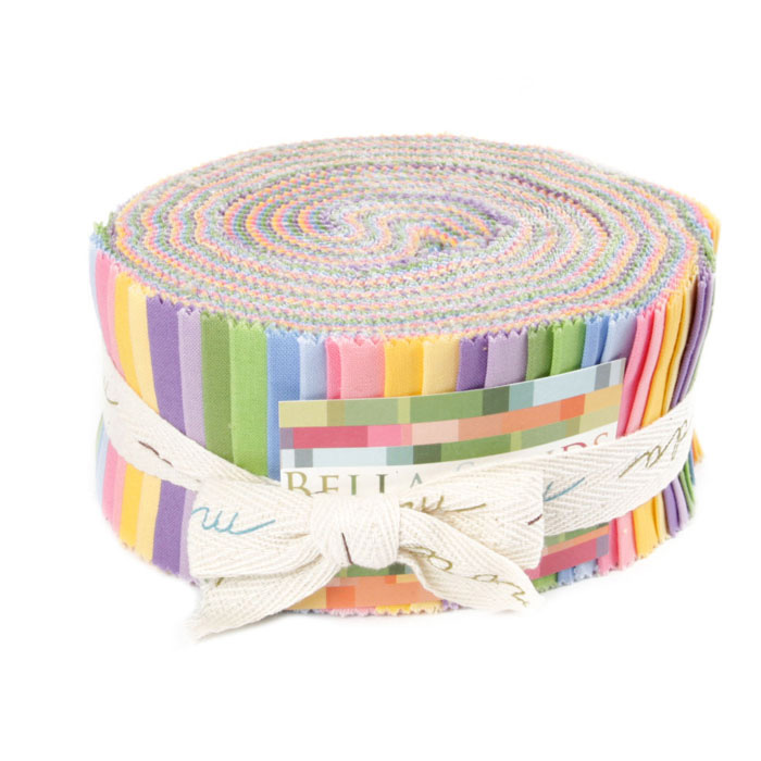 Moda Bella Solids 2-1/2'' Jelly Roll 30s Colors