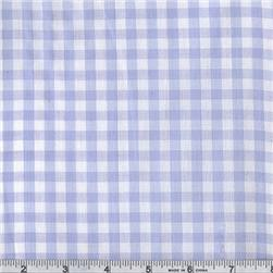 "1/4"" Cotton Gingham Check Light Blue"