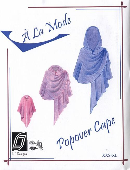 LJ Designs Popover Cape Pattern