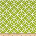 Cozy Cotton Flannel Circle Plaid Lime