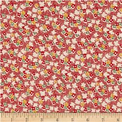 Back Porch Prints Multi Floral Red
