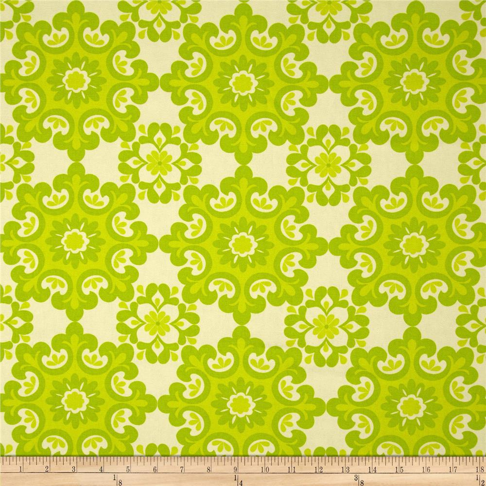 Riley Blake Home Décor Ornate Damask Lime