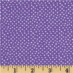 Mini Confetti Dot Purple Fabric