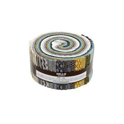 "Kaufman Shimmer 2.5"" Roll Up Multi"