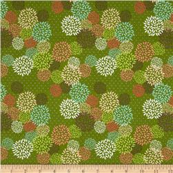Deerfield Floral Green