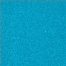 Raw Silk Noil Turquoise