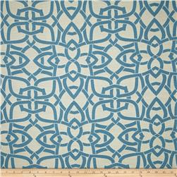 Richloom Indoor/Outdoor Woven Jacquard Dolan Turquoise
