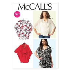 McCall's Misses' Tops, Tunics and Belt Pattern M6929 Size 0Y0
