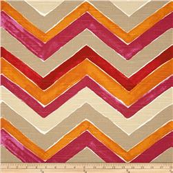 Home Accents Nomad Chevron Flamenco