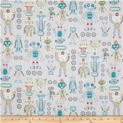 Mr. Roboto Large Robots Grey