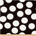 Moda Half Moon Modern Big Dot Black