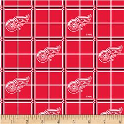 NHL Flannel Detroit Red Wings