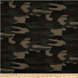 Textile Creations Camouflage Twill Green/Black/Khaki