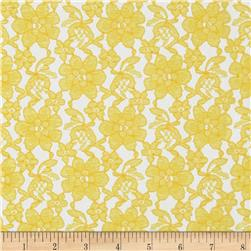 Raschelle Lace Yellow