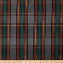 Polyester Uniform Plaid Green/Red/Yellow