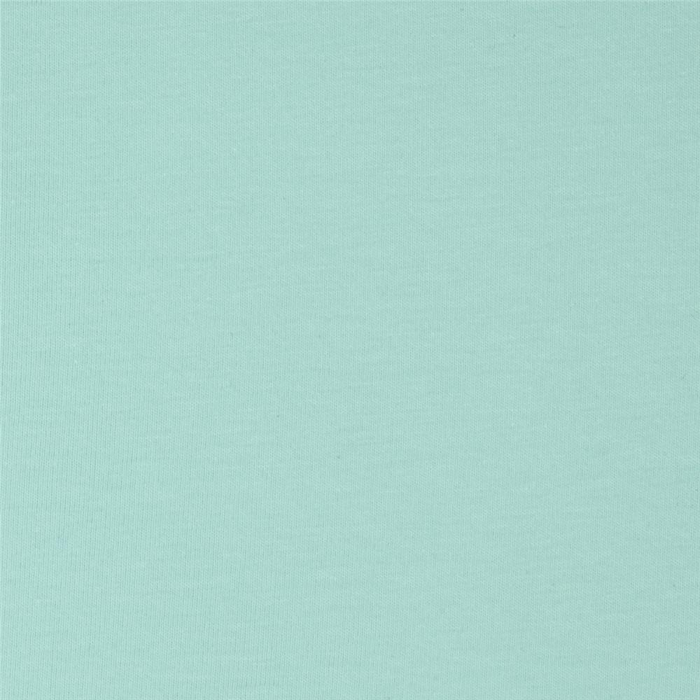 Art Gallery Solid Jersey Knit Icy Mint