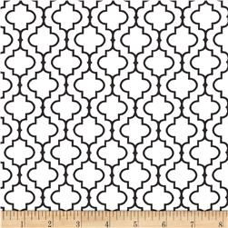 Robert Kaufman Metro 108'' Wide Back Tile Black