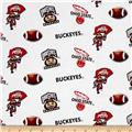 Collegiate Cotton Broadcloth The Ohio State University