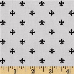Kaufman Cambridge Cotton Lawn Mini Print Fleur Grey