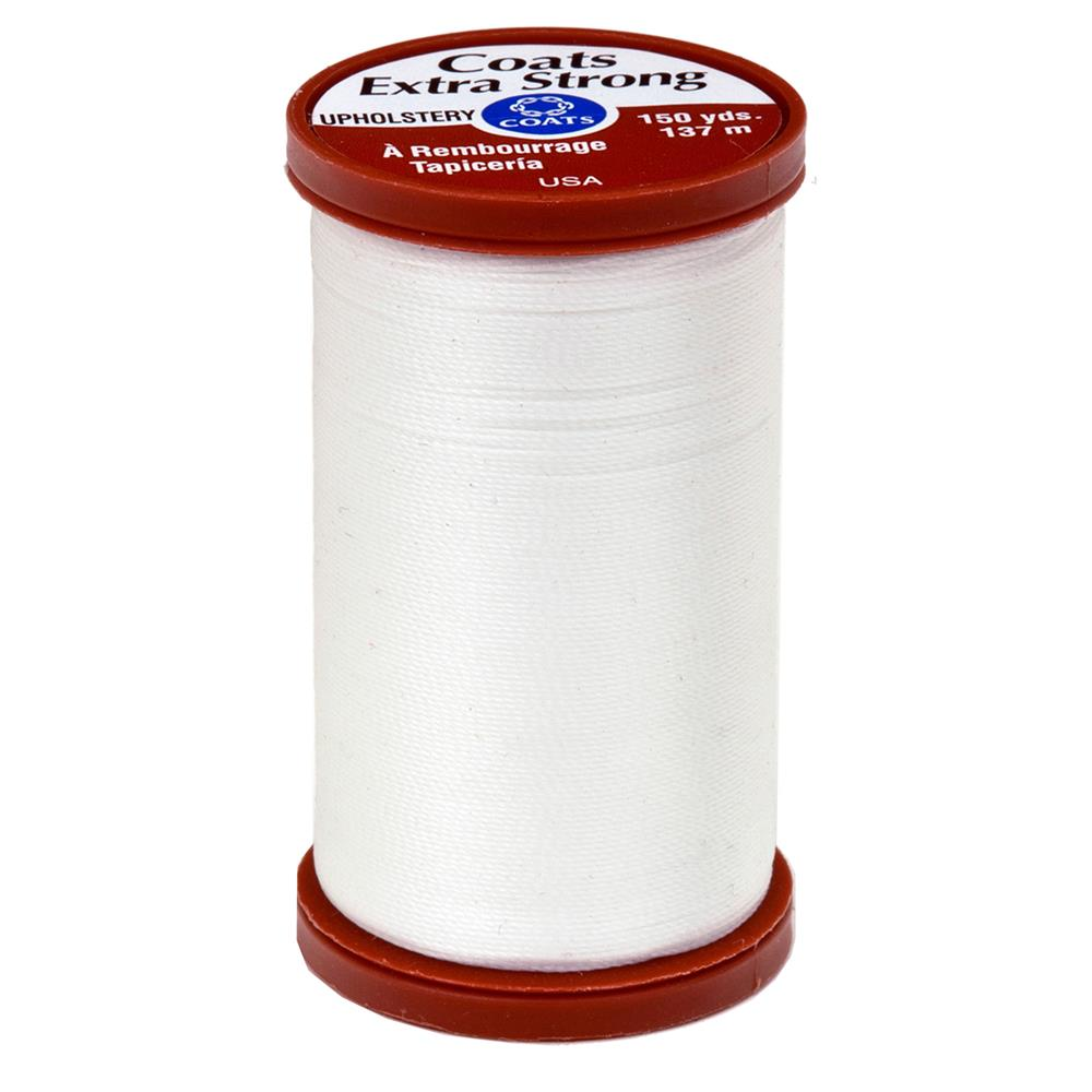 Coats & Clark Specialty Thread Upholstery 150yds White