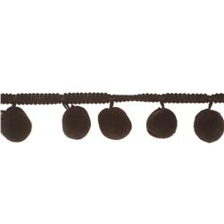 Riley Blake 1 1/4'' Jumbo Pom Pom Trim Black