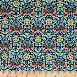 Liberty of London Classic Tana Lawn Persephone Light Blue/Pink