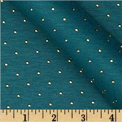Jewel Jersey Knit Teal