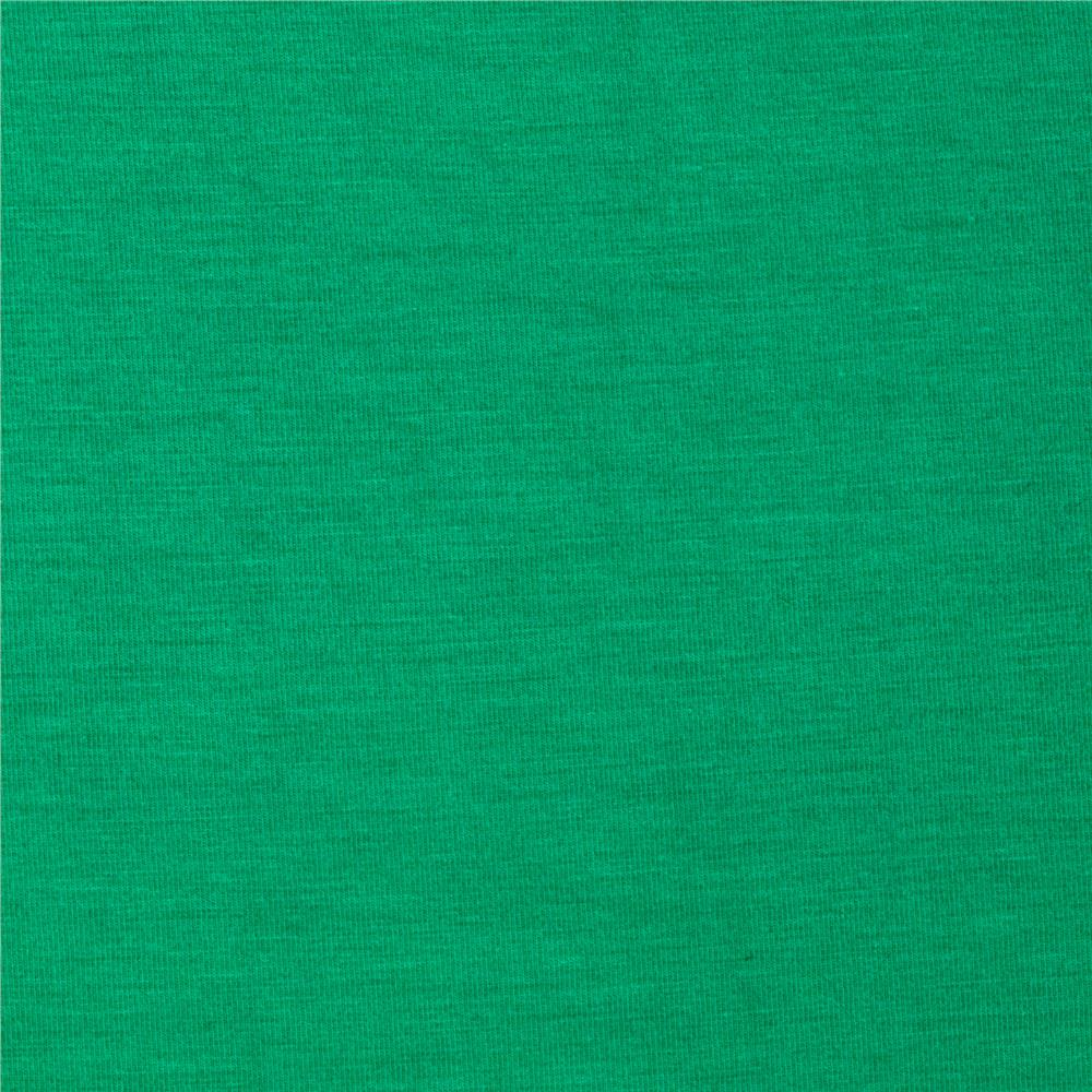 Telio stretch bamboo rayon jersey knit mint green for Green fabric