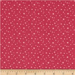 On Plumberry Lane Dots Dark Pink