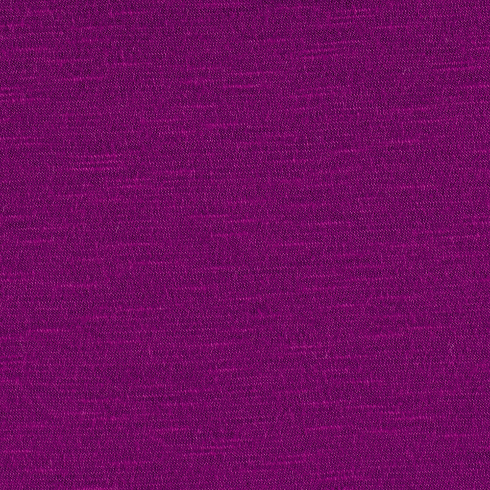 Arianne Stretch Slub Jersey Knit Magenta Fabric