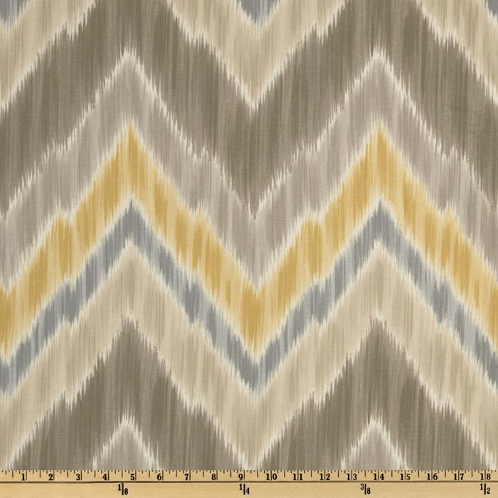 Braemore Tribal Find Ikat Chevron Putty