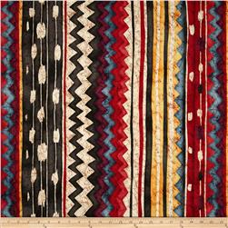 Santa Fe Pow Wow Kilim Tea Dye Fabric