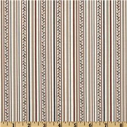 La Petite Mercerie Stripe Brown/Blue