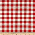 Riley Blake Comfort and Joy Plaid Red