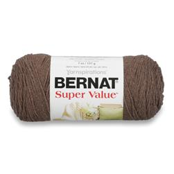 Bernat Super Value Yarn (53015) Taupe Heather