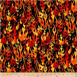 Novelties Flames Orange/Black