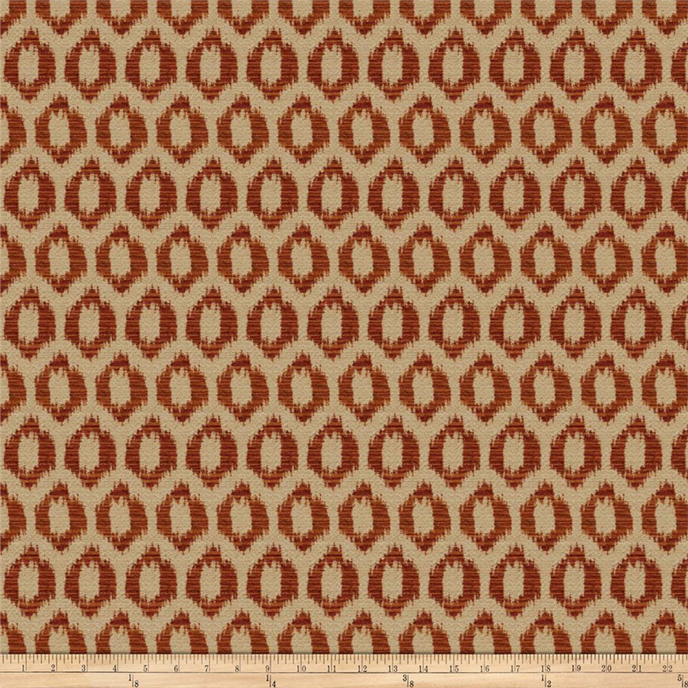 Trend 03894 Chenille Tuscan Red