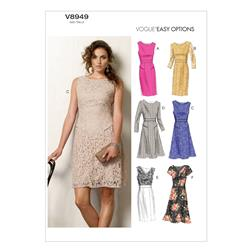 Vogue Misses' Dress Pattern V8949 Size B50