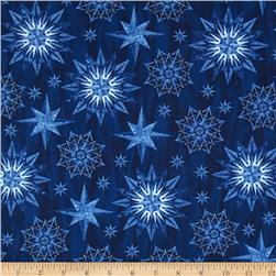 Timeless Treasures Judy Niemeyer Seasonal Portraits Watermark Blue