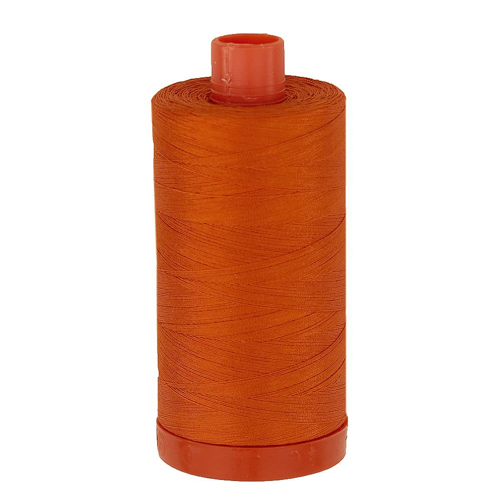 Aurifil Quilting Thread 50wt Orange