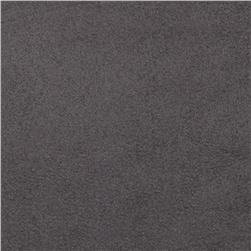 Cuddle Suede Charcoal Fabric