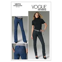 Vogue Misses Pants Pattern V8774 Size AAX