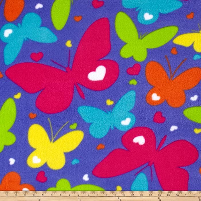 Simply Rainbow Butterflies Purple/Multi