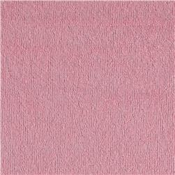 Cotton Blend Stretch Terry Pink