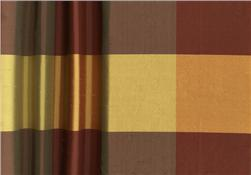 Dupioni Silk 3.75'' Check Autumn